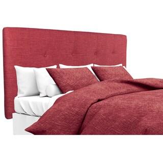 MJL Furniture Ali Button Tufted Key Largo Ruby Upholstered Headboard