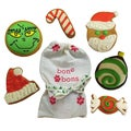 Bone Bons Grain-free Dog Christmas Cookies