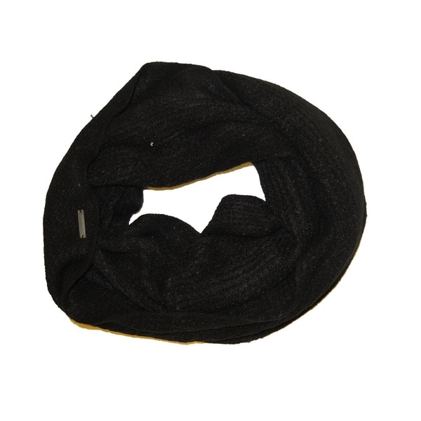 Tahari Woman's Black Sequin Stole Infinity Scarf