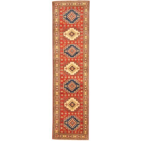 Compare Best Herat Oriental Afghan Handknotted Tribal Kazak