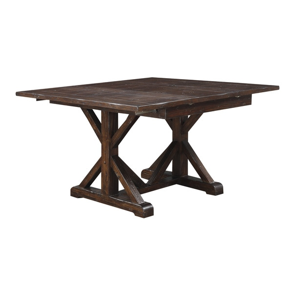 Urban Rustic Pine Butterfly Dinette Table