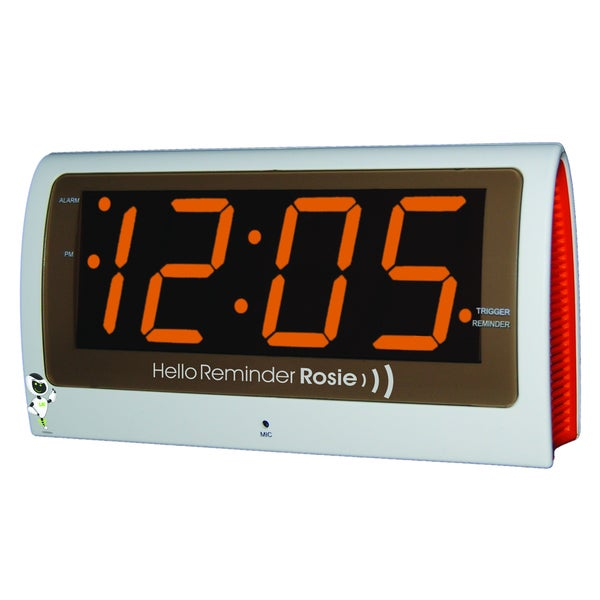 Reminder Rosie Talking Alarm Clock Organizer