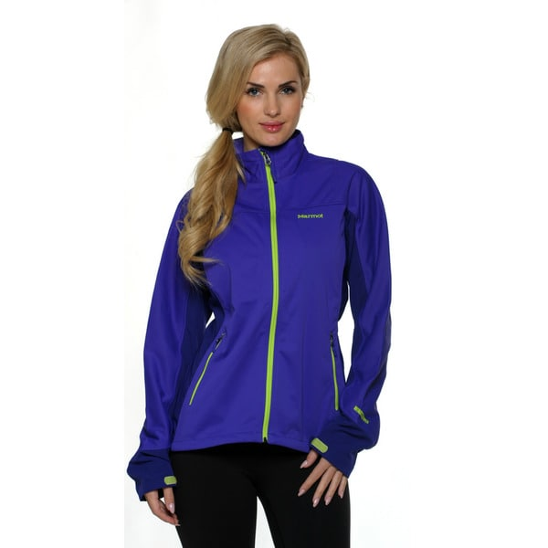 Marmot Women's Electric Blue/Midnight Purple Leadville Jacket
