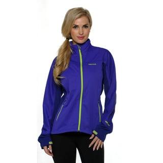 Marmot Women's Electric Blue/Midnight Purple Leadville Jacket