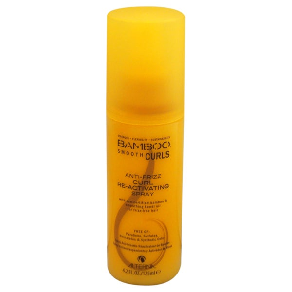 Alterna Bamboo Anti-Frizz Curl 4.2-ounce Re-Activating Spray