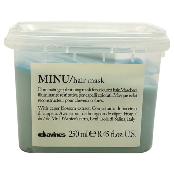 Davines Minu Illuminating 8.45-ounce Replenishing Mask