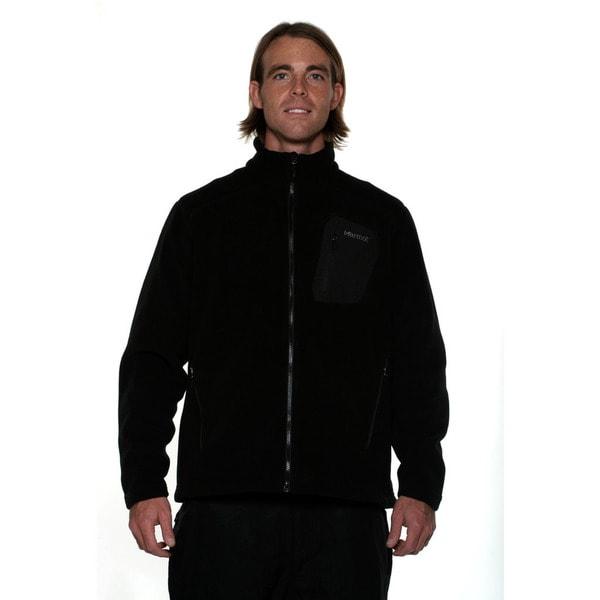 Marmot Men's Black Warmlight Fleece Jacket
