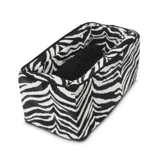 Snoozer Console Pet Car Seat Zebra Micro