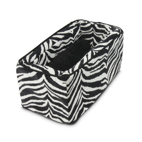 Snoozer Console Pet Car Seat Zebra Micro