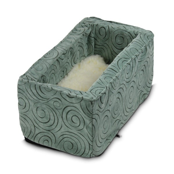 Snoozer Console Pet Car Seat Box Robin's Egg Blue