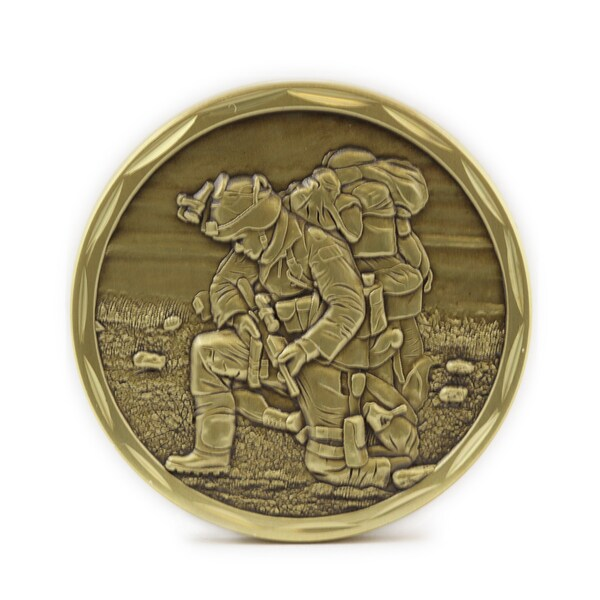 Praying Soldier Commemorative Coin