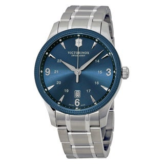 Victorinox Swiss Army 241711 Men's Alliance Stainless Steel Blue Watch