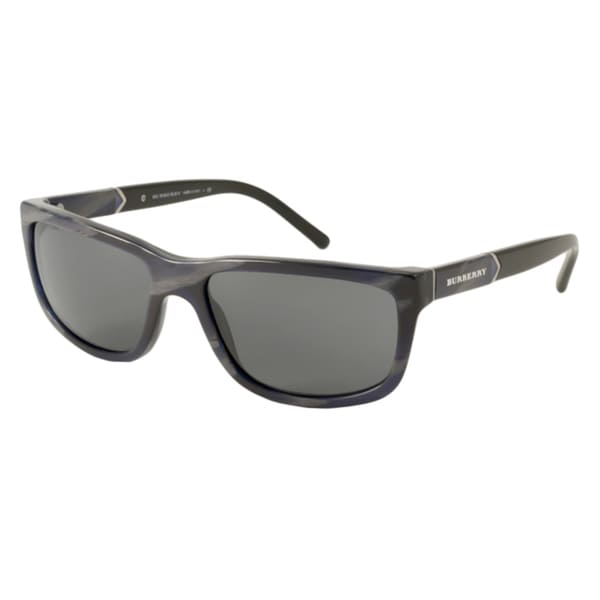 Burberry BE4155 Men's Rectangular Sunglasses