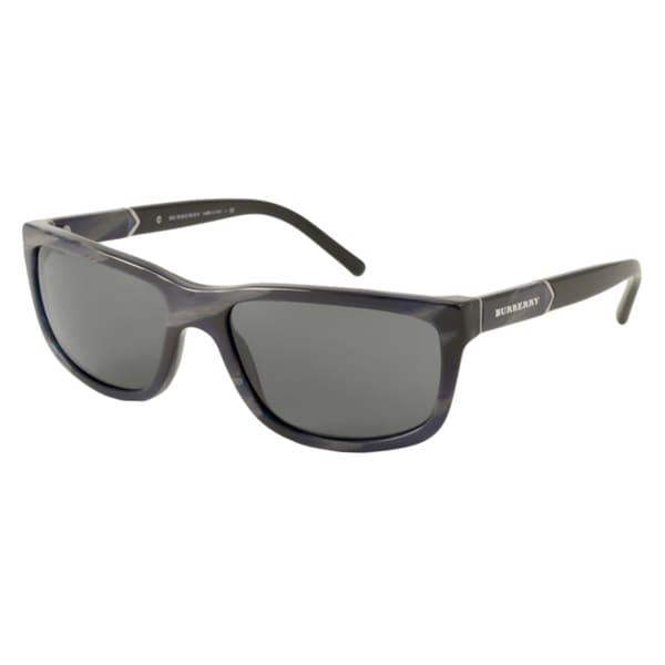 Burberry BE4155 Men's Rectangular Sunglasses