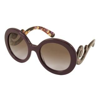 Prada PR27NS Women's Round Sunglasses