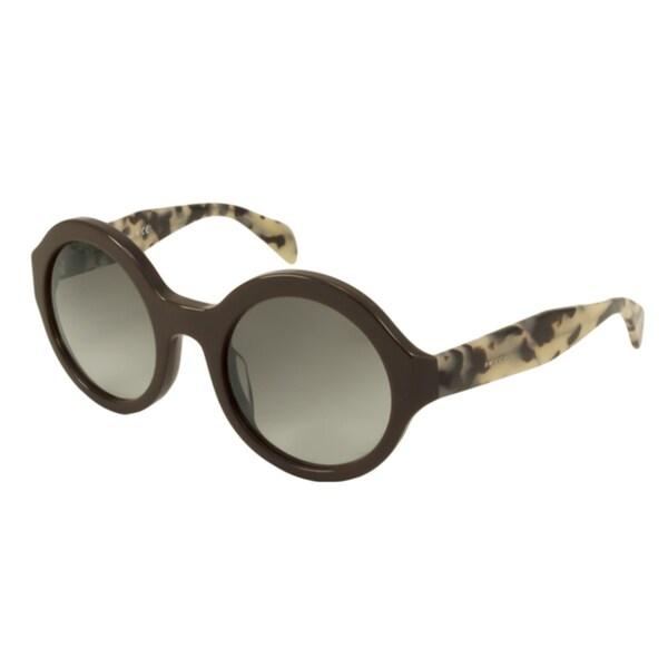 Prada PR06QSA Women's Round Sunglasses