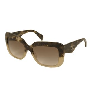 Prada PR03QS Women's Rectangular Sunglasses
