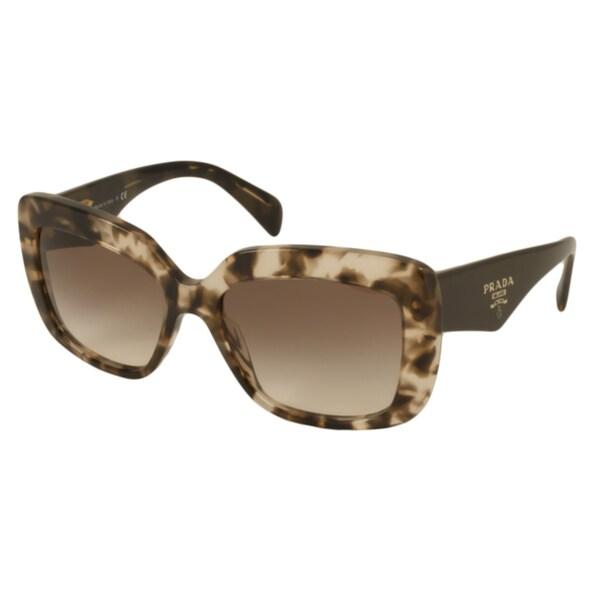 Prada PR03QS Women's Rectangular Sunglasses