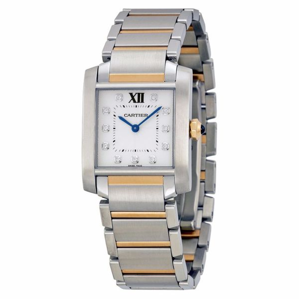 Cartier Women's WE110005 Tank Francaise Silver Watch