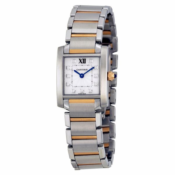 Cartier Women's WE110004 Tank Francaise Silver Watch