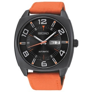 Seiko Men's SNKN39 Automatic 21 Jewel Movement 50M Water Resistant Day Date Watch