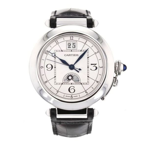 Cartier Men's W3109255 Pasha De Cartier Silver Watch