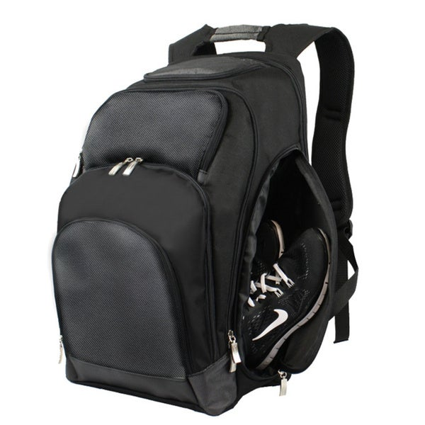 Goodhope Business Black 17-inch Laptop and Tablet Backpack