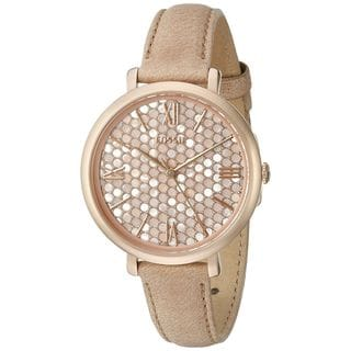 Fossil Women's ES3866 'Jacqueline' Brown Leather Watch