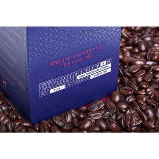 Cafe Viante Brazil Ristretto Fortissimo Nespresso Compatible Coffee Capsules (Pack of 7)