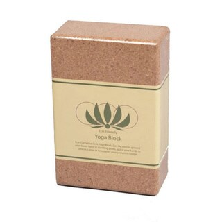 J/Fit 3-inch Eco-Friendly Cork Yoga Block
