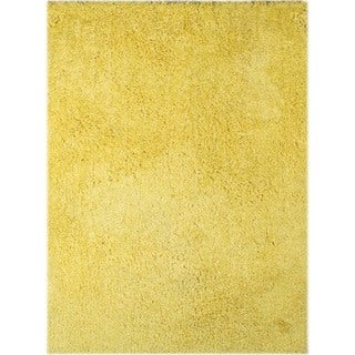 Palo Alto Shag Rug in Yellow (5' x 7'6)