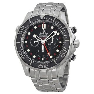 Omega Men's O21230445201001 'Seamaster Diver' Chronograph Automatic Stainless Steel Watch