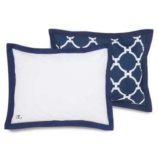 Jill Rosenwald Copley Collection Hampton Links Reversible Standard Sham