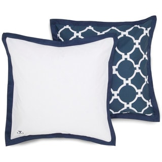 Jill Rosenwald Copley Collection Hampton Links Reversible European Square Sham