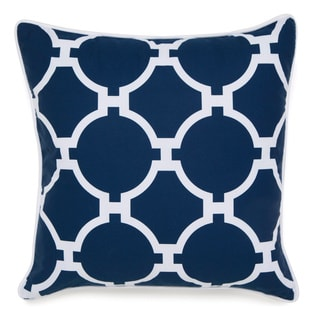 Jill Rosenwald Copley Collection Hampton Links Square Embroidered Pillow
