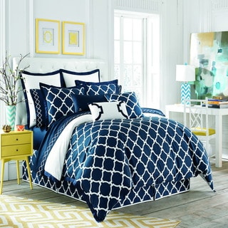 Jill Rosenwald Copley Reversible Hampton Links Duvet Cover