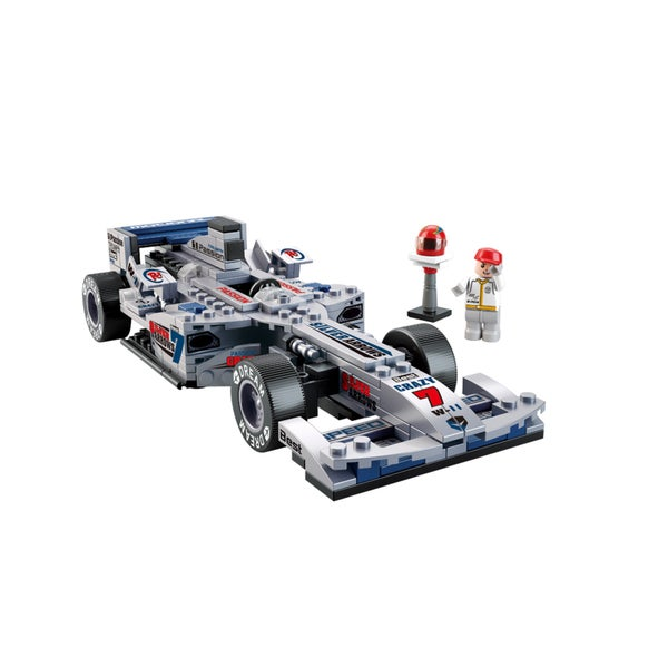 Sluban 1:24 F1 'Silver Arrows' Racing Car