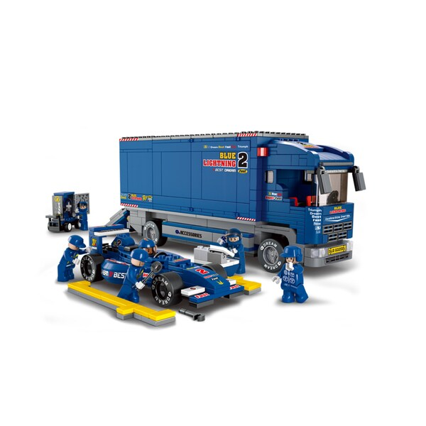 Sluban F1 'bull' Racing Truck