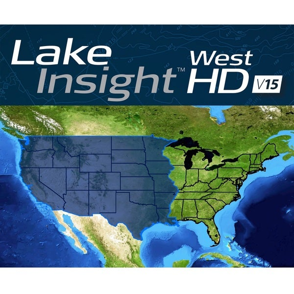 Lowrance Lake Insight HD West V15 Chart Card