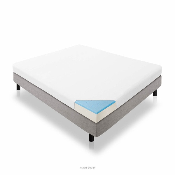 LUCID 5-inch Full-size Gel Memory Foam Mattress