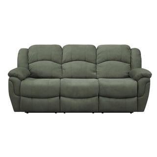 Hadley II Padded Microfiber Motion Sofa