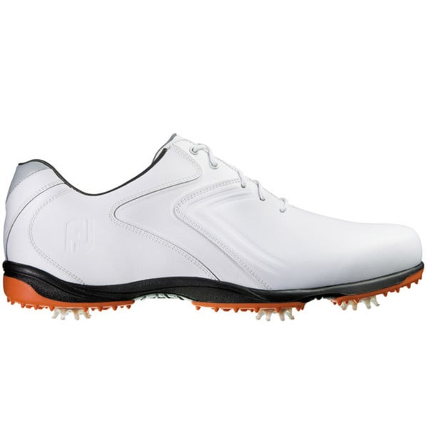 FootJoy Mens HydroLite White/Grey Golf Shoes