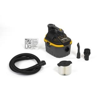 Workshop Wet Dry Vacs WS0400VA Portable Powerful 4-gallon 5.0 Peak HP Wet Dry Shop Vacuum