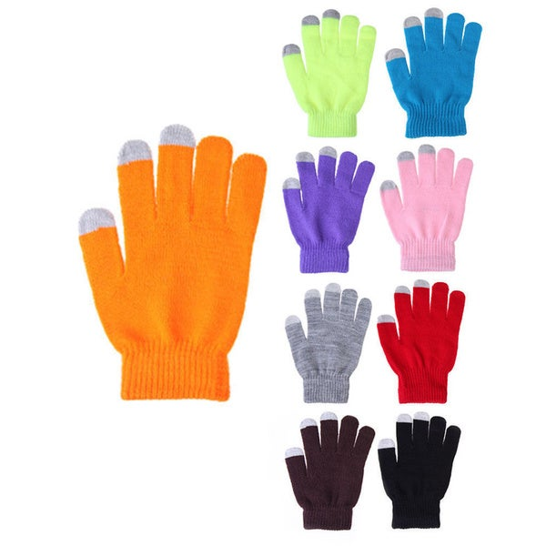 Women's Hand Warmer Touch Screen Gloves (6 Pairs)