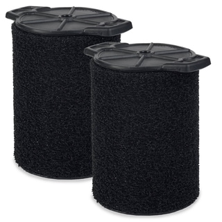 Workshop Wet Dry Vacs WS24200F2 Wet Application Foam 5 to 16-gallon 2-pack Filter for Wet Dry Shop Vacuum