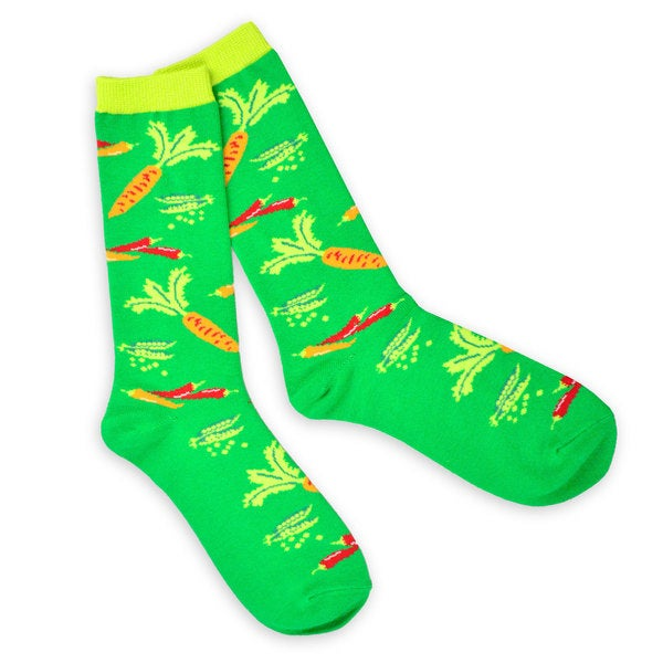 TeeHee Food Lovers Fashionable Cotton Crew Socks