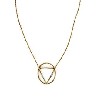 Brass Meru Necklace (Kenya)