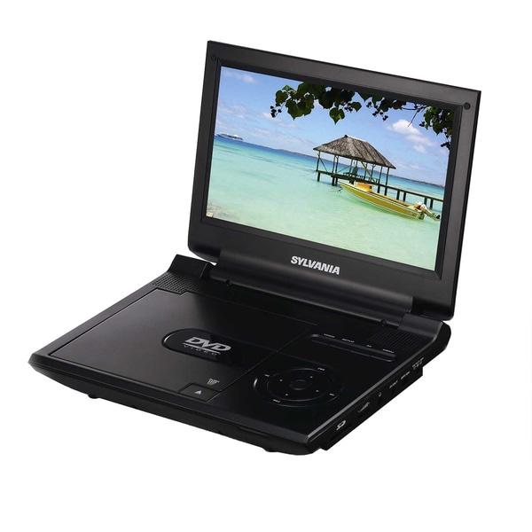 9-inch DVD USB SD Remote Bat Black (Refurbished)