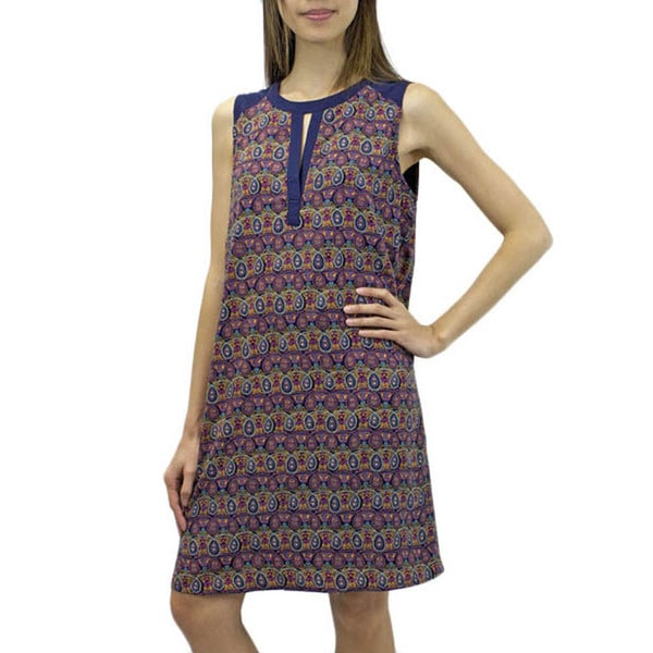 Relished Women's Kerala Keyhole Shift Dress