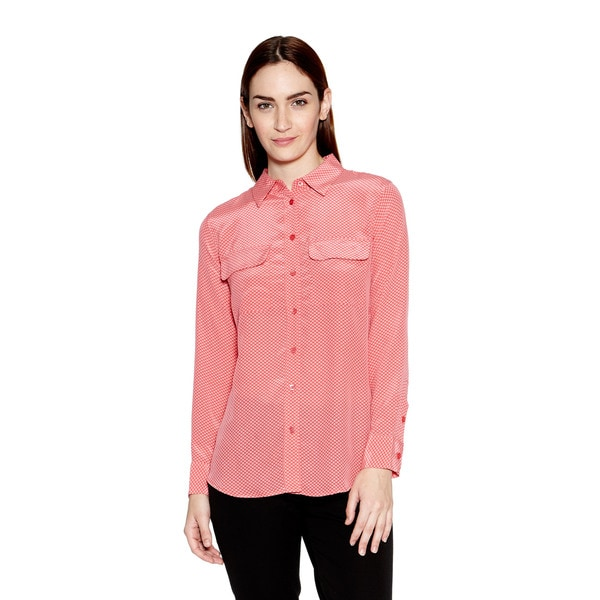 Equipment Slim Signature Button Down Blouse